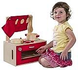 Kids Toy Spielküche aus Holz inkl. Box Topf Pfanne Geschirr