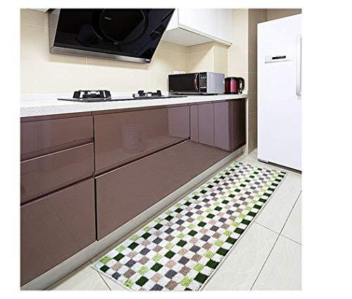 Alfombra de cocina lavable para el hogar y la cocina, antideslizante, alfombrilla de goma en la parte...
