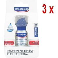 3 x Hansaplast Pflasterspray - 50 Anwendungen - 32,5 ml preisvergleich bei billige-tabletten.eu