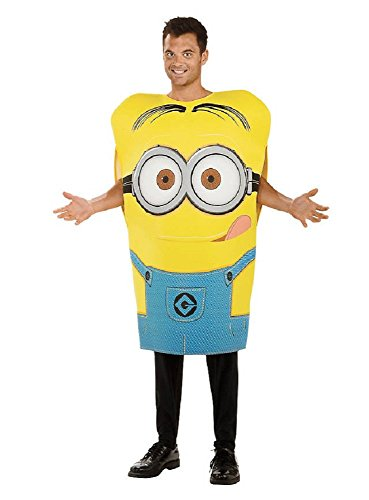 Minions Dave Lizenz Kostüm blau (Minion Dave Kostüme Erwachsene)