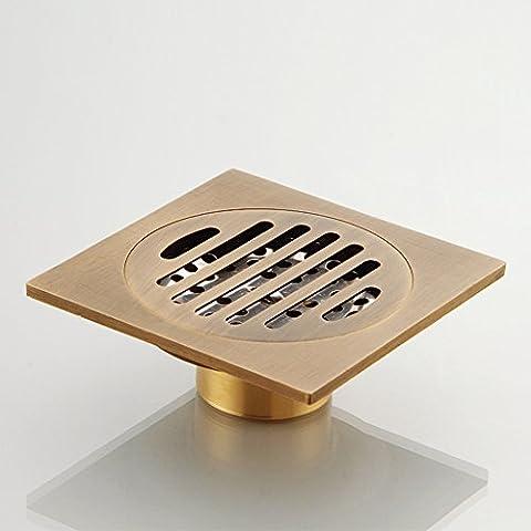 cuivre vidange déodorant/Salle de bain salle de bain lave linge s'égoutter-A