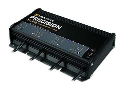 Minn Kota MK 440PC Precision On-Board 4-Bank Ladegerät, 10-amp Minn Kota-board-batterie-ladegerät