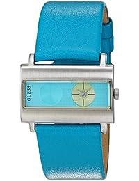 Guess Unisex-Armbanduhr Analog Quarz Leder 60391L3