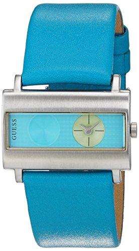 Guess 60391L3 - Reloj analogico con correa de cuero Unisex, color Multicolor