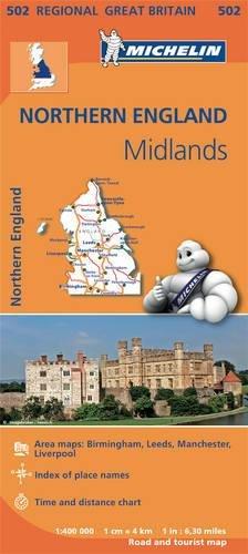Mapa Regional Northern England, Midlands (Carte regionali)