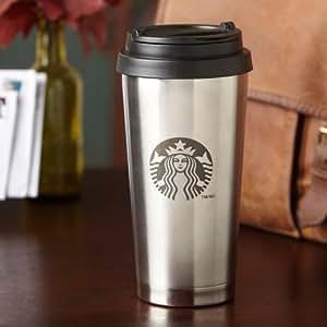 Starbucks Thermobecher (Edelstahl) - Becher to go / Reisebecher / Coffee to go - 473 ml / 16 fl oz