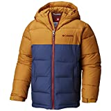 Columbia Sportswear Jungen Pike Lake Insulated Jacket, Canyon Gold/Dark Mountain, S