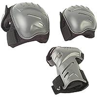 HUDORA Protektoren-Set Erwachsene - biomeschanisch, Gr. S-L - Schutzausrüstung Schoner - 83029/AM