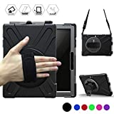 BRAECN Surface Go Case - Heavy Duty Shockproof Rugged Case