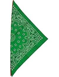 fabfive–HAV de a de Hank–Original fabricado en Estados Unidos Bandana–Kelly Green verde