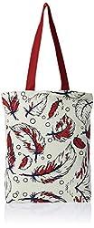 Kanvas Katha Women's Tote Bag (Ecru) (KKCAMZ005)