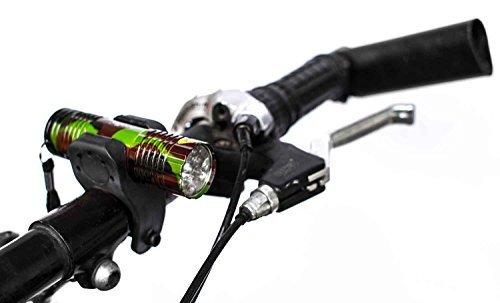 Fahrradlampe 9 LED Fahrrad Licht Set Fahrradlampe Fahrradlicht Fahrradbeleuchtung Taschenlampe Front licht Rücklicht Set Rad Lampe
