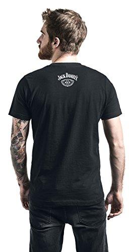 Jack Daniel's Tennessee Whiskey T-Shirt Schwarz Schwarz