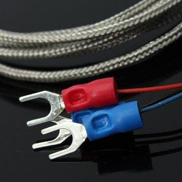 Souked Pt100 Capteur de température 2m ??câble de la sonde 98mm 3 fils -50-400Degree