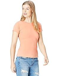 FIND Camiseta de Espalda Cruzada para Mujer