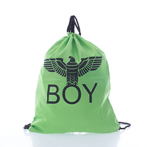 BOY LONDON - Zaino unisex uomo donna bl552 stampato Verde
