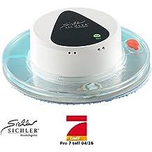 Sichler Haushaltsgeräte Nasswischroboter: Boden-Wisch-Roboter PCR-1130 für Nass- und Trockenreinigung (Vollautomatischer Bodenwischroboter)