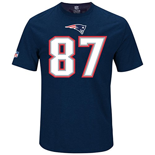 Majestic NFL Fan Shirt - New England Patriots Rob Gronkowski - Tshirt Gronkowski Rob
