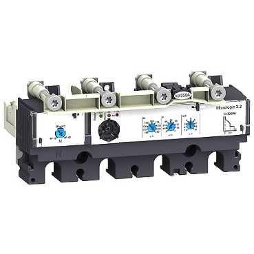 SCHNEIDER ELEC PBT - PAC 55 09 - UNIDAD CONTROL MICROLOGIC 2 2 40A 4 POLOS 4R