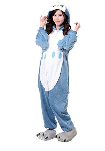 Molly Unisex Adulto Kigurumi Pigiama Cosplay Costume Animale Pigiama Gufo