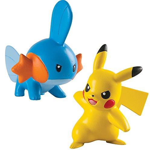 Tomy Pokémon - T18446 - Figurine de Combat Gobou Vs Pikachu