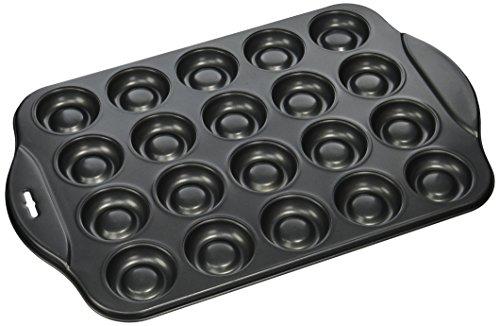 Norpro gefüllt Cookie Pfanne, schwarz, 20Stück (Chocolate Chip Cookie-pfanne)