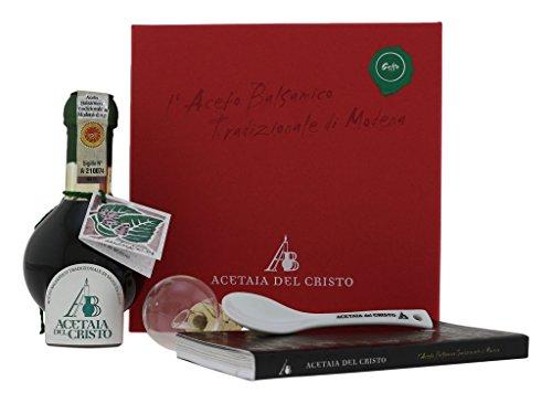 Acetaia del Cristo COF-AL+CT Aceto Balsamico Tradizionale di Modena DOP - 100 ml - 12 Anni Aceto Balsamico