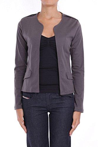 ANTA Q'ULQI - Giacca / Blazer in jersey 100% cotone Pima biologico - grigio, XS