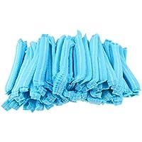 Sharplace 100 STÜCKE Einweg Vlies Bouffant Kappe Haar Abdeckung Staubdicht Elastische 21 '' Blau 20cm preisvergleich bei billige-tabletten.eu