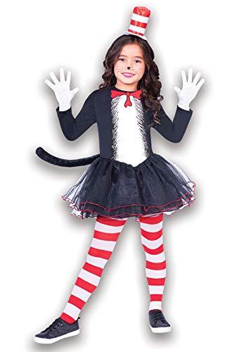 Hut Kleid - Kostüm Kinder Mädchen ()