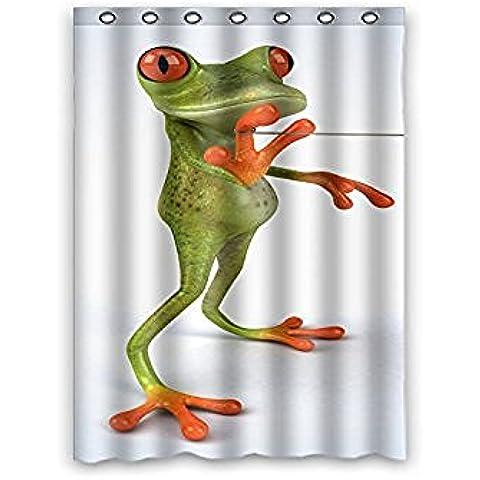 Sogno fuori Humor animale rana personalizzata–Decor impermeabile bagno doccia tenda