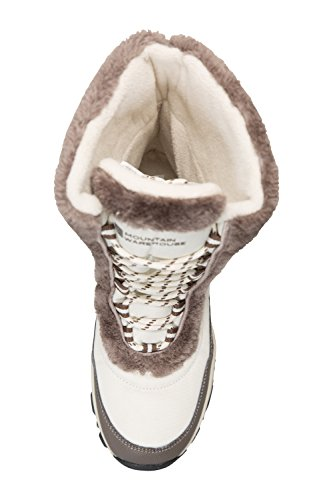 Mountain Warehouse Doposci Donna Stivali Neve Invernale Ohio Beige