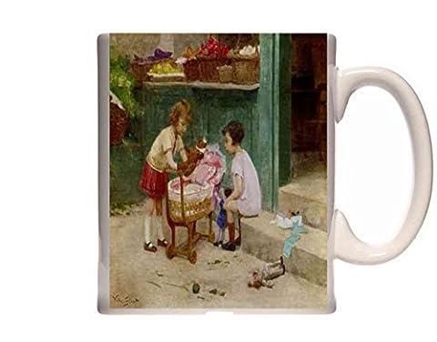 Mug Gilbert Victor Gabriel The Favourite Teddy Bear Ceramic Cup Gift Box