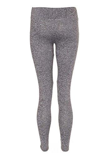 Bande latérale Yoga Gym Vêtement actifs Leggings Pantalon pour Femmes Orange