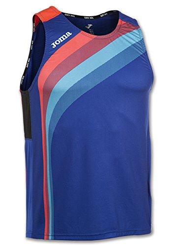 JOMA T-SHIRT ELITE V SLEVEELESS Uniforms MAGLIETTA UOMO Royal