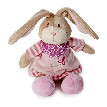 Mousehouse Gifts Baby Girl Cute Plush Pink Bunny Rabbit