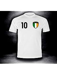 ElevenSports Irland Trikot 2018 mit GRATIS Wunschname + Nummer im EM WM  Weiss Typ  IR1t 14d78007ef