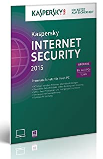 Kaspersky Internet Security 2015 Upgrade - 3 PCs (Frustfreie Verpackung) (B00LM68DJQ) | Amazon price tracker / tracking, Amazon price history charts, Amazon price watches, Amazon price drop alerts