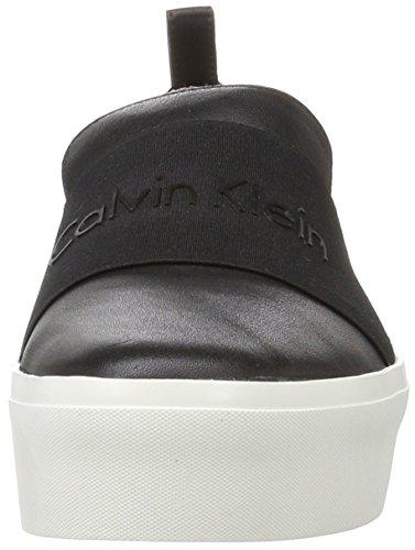 Calvin Klein Jacinta Cervo/Elastic, Chaussons Montants Femme Noir (Black)