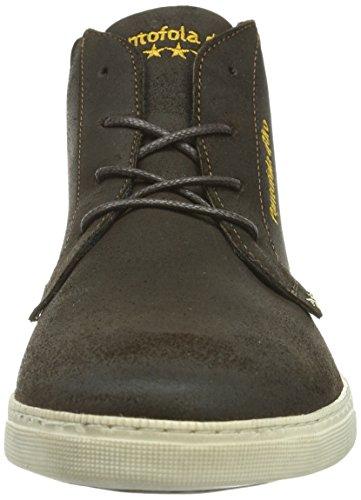 Pantofola d'Oro Aosta Dandy Mid Men Herren Hohe Sneakers Braun (Coffee Bean)