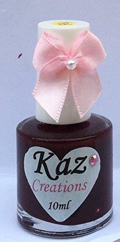 Kaz Creations Vernis à ongles Bourdonnement Bordeaux # 74