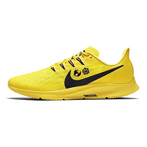Nike Air Zoom Pegasus 36, Scarpe da Trail Running Uomo, Giallo (Chrome Yellow/Black/White/Lt Zitron 700), 42 EU