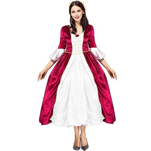 Halloween Cosplay Kostüm Gericht Princess Dress Kleid, Farbe, Code