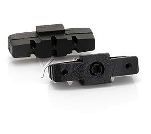 2Yukon Premium PowerPads Frein Noir pour Magura HS3311