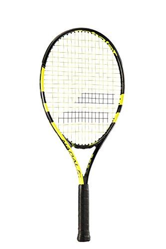 Babolat Nadal Jr 23 Raquetas de tenis, Unisex niños, Negro / Amarillo, 00