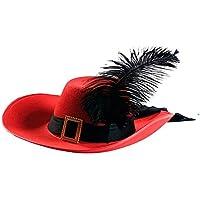 Amazon.es  sombrero mosquetero - Disfraces y accesorios  Juguetes y ... eed4a9ea1dc