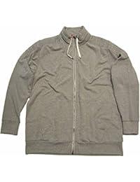 s.Oliver Herren Sweatshirt Jacke, 15.507.43.3270, grau (9427) Übergröße bis 5XL