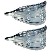 plantilla aumentada - Unisex Plantillas de zapato elevadoras Colchon de aire 4 capas elevacion del talon mas alto