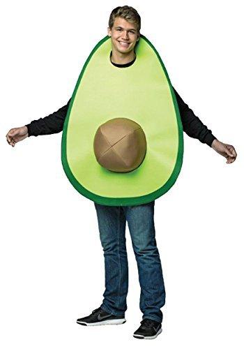 Avocado Kostüm Damen - Avocado Adult Costume