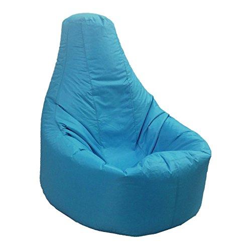 LOVIVER XXL Recliner Gaming Sitzsack Abdeckung Erwachsenen Sitz Pod Tasche Abdeckung - Himmelblau